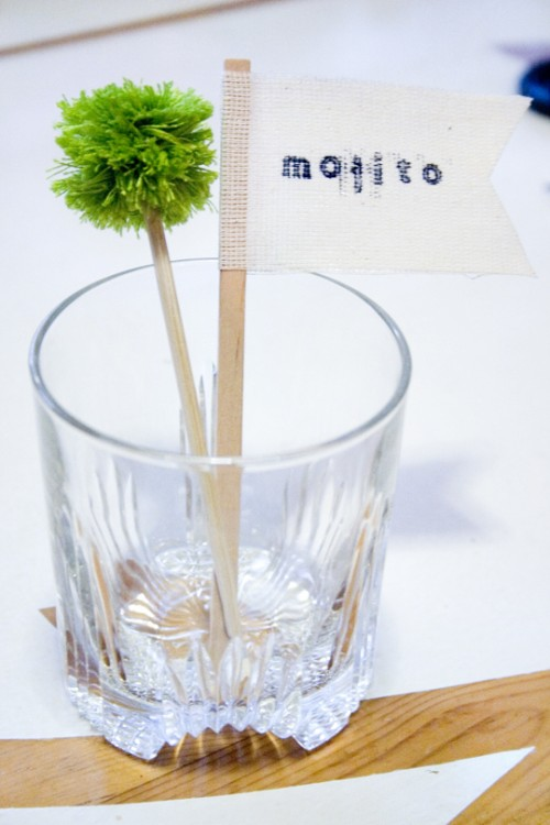 easy drink stirrers (via blackoakvintage)