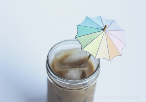 umbrella drink stirrers