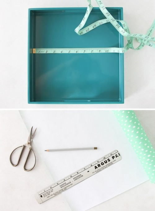 Cheerful Diy Mint Summer Tray Makeover