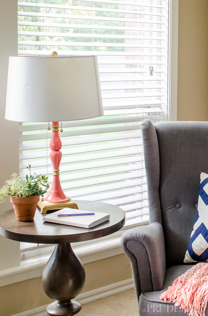 Chic And Cheap DIY Lamp Makeover