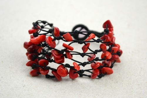 Chic Diy Coral Beads Bracelet