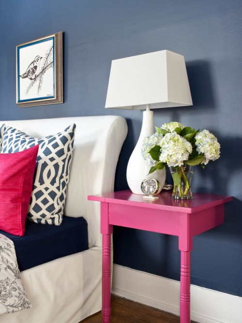 Chic DIY Nightstands That Won't Take Much Space