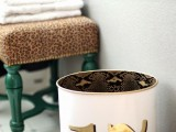 Chic Diy Trash Can Makeover