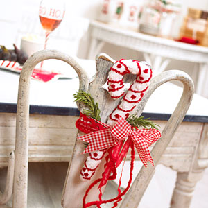 Christmas Chair Decorating Ideas