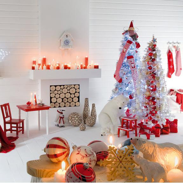 7 Christmas Interiors From Different Countries