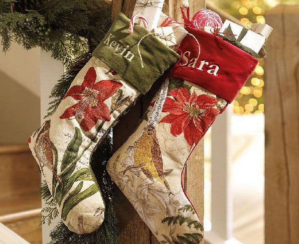 Picture Of Christmas Stockings