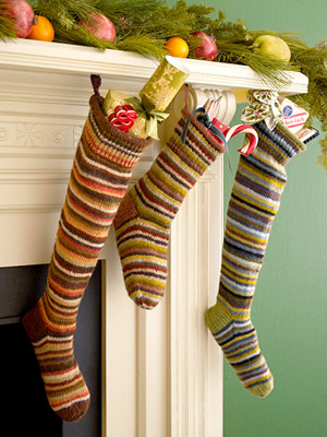 Colorful socks in crazy patterns is exactly what the holidays were missing.