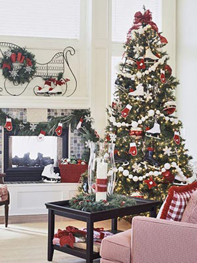 Christmas Tree Decorating Ideas | Shelterness