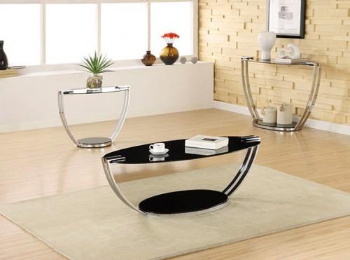 Chrome Plated Coffee Table (via)