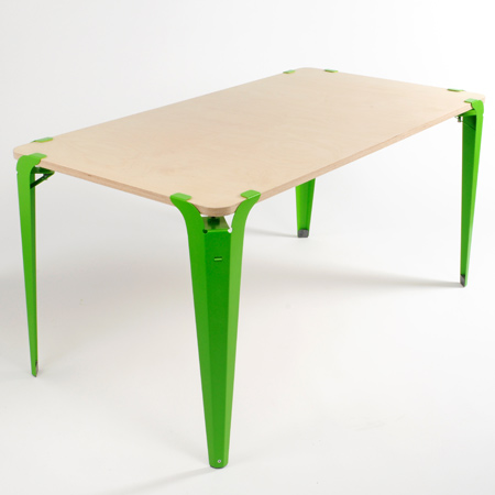 the clamp table is a universal table leg set that is able to be easily