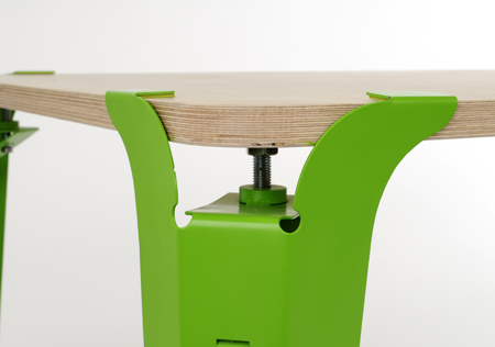 Table Leg Set To Form Your Own Unique Table Shelterness