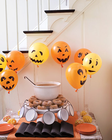 Украшаем дом к Хэллоуину.  Идеи декора.