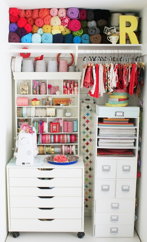 Perfectly Organizer Closet Crafts Studio