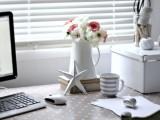 Cloth Desk Makeover