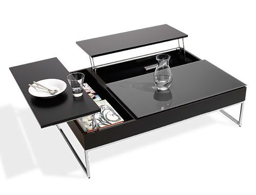 Coffee Table With Storage by BO Concept (via)