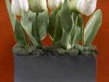white tulips container (via craftsncoffee)