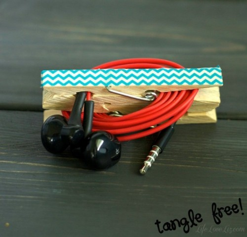 Colorful And Easy Diy Headphone Clips