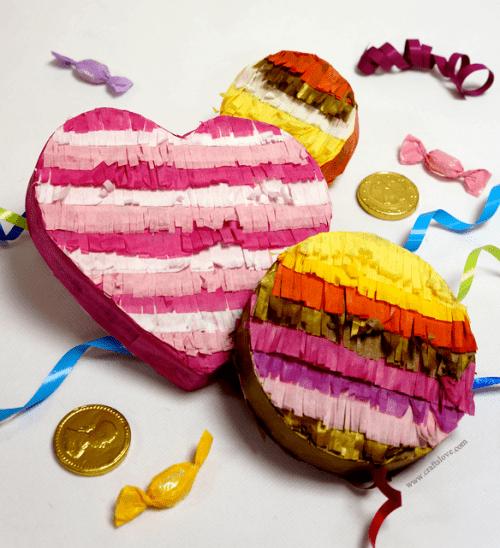 pinata party favors (via craftslove)