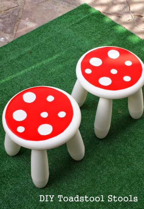 11 Colorful And Fun DIY Stools For Kids