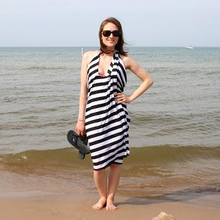 no sew beach wrap (via laviediy)