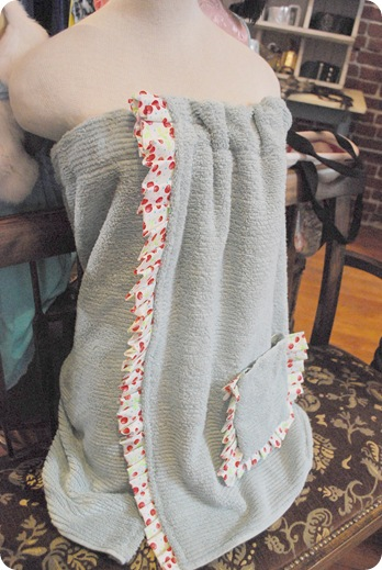 spa towel wrap (via centsationalgirl)