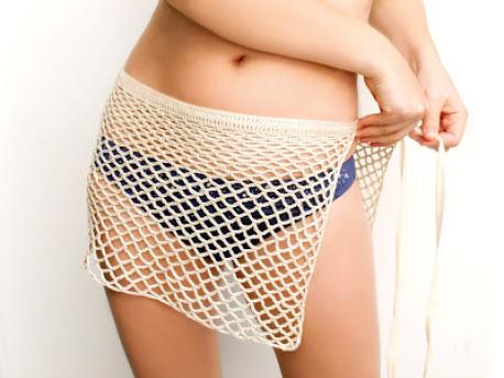 crochet wrap beach skirt (via diyncrafts)