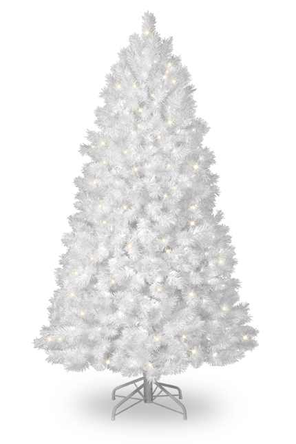 White Artificial Christmas Tree