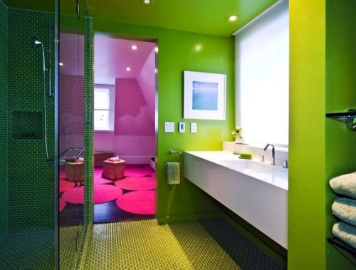 21 Colorful Bathroom Designs To Inspire You