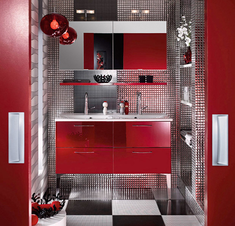 21 Colorful Bathroom Designs To Inspire You | Shelterness
