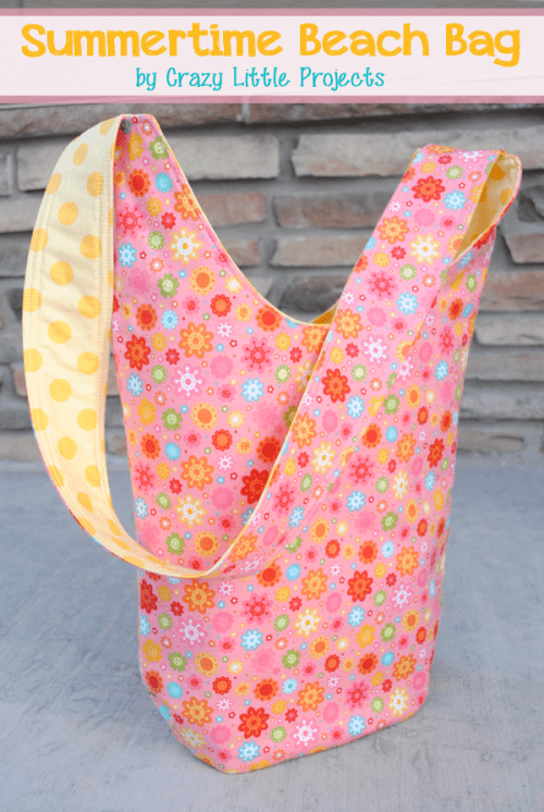 colorful summer beach bag (via diyncrafts)