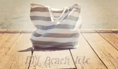 simple beach bag