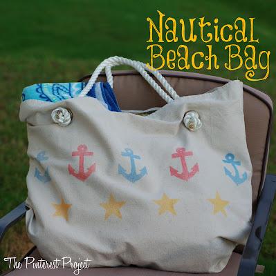 nautical canvas bag