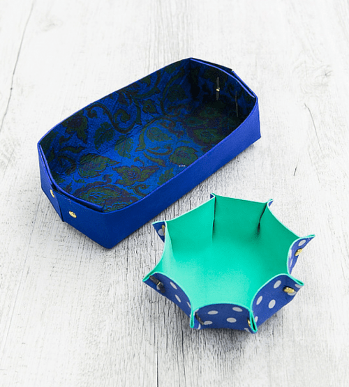 DIY Foam Boxes And Bowls For Storage