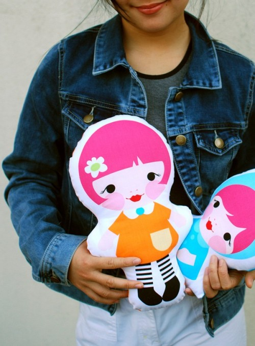 Colorful DIY Doll Softies For Your Kids