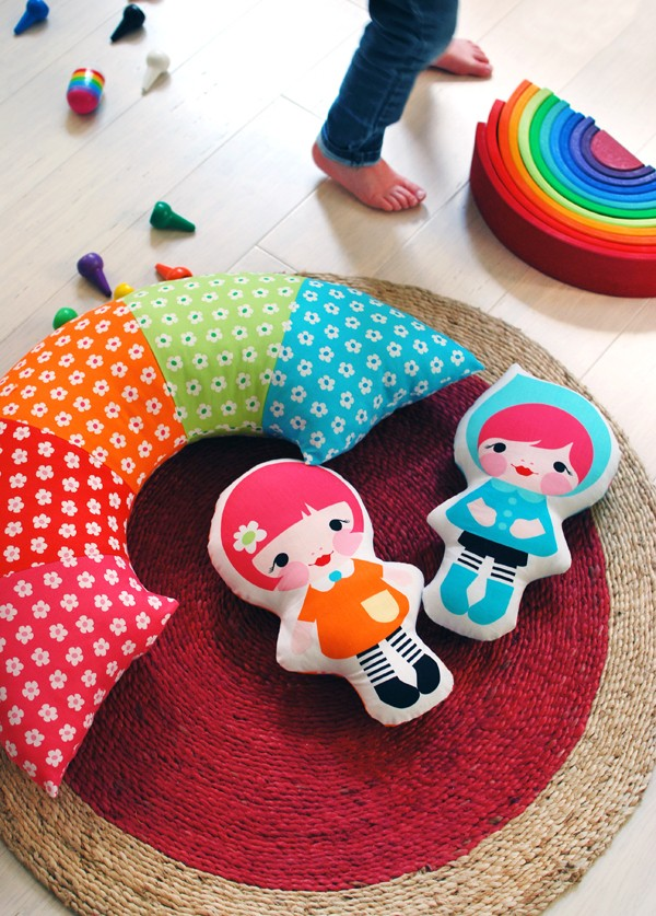 Picture Of colorful diy doll softies for your kids  5