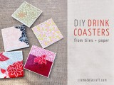 Colorful Diy Drink Coasters Of Tiles