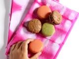 pink shibori cloth napkins