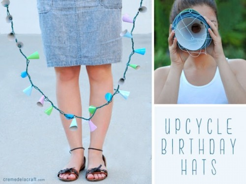 Colorful Diy Garland For An Outdoor Party