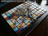glass tree mosaics