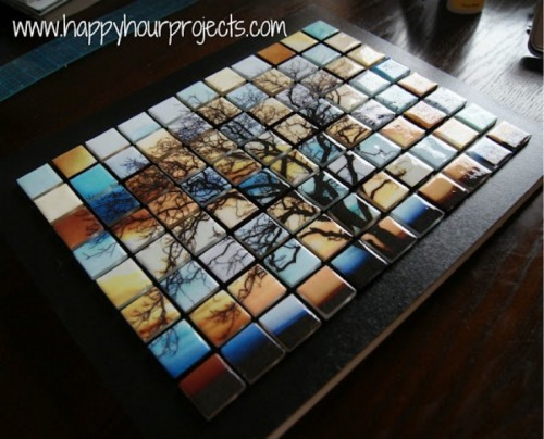 glass tree mosaics