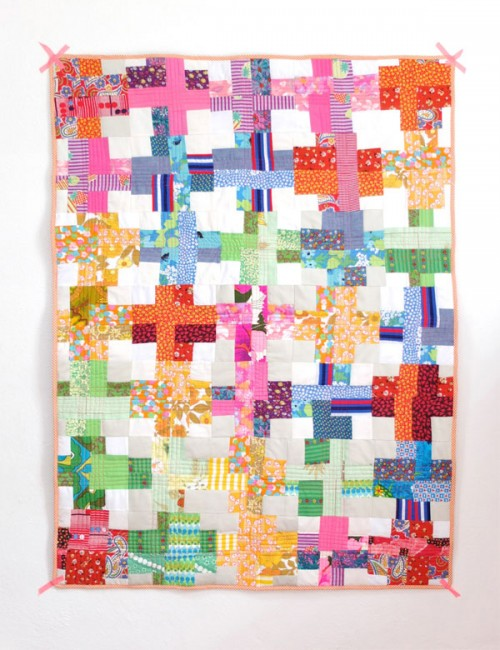 11 Colorful DIY Patchwork Quilts And Blankets