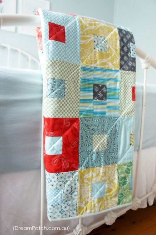 patchwork blanket (via dreampatch)