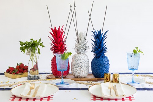 16 Colorful DIY Pineapple Projects For Summer Home Décor