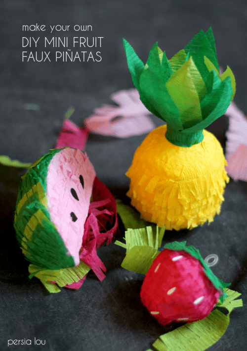 pineapple pinata (via persialou)