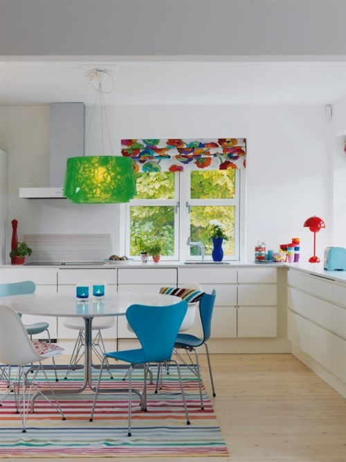 Colorful Interior Design Of A Simple Home