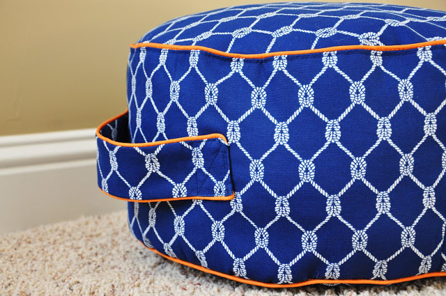 24 Comfortable DIY Poufs And Ottomans