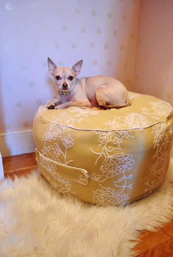 pinterest beanbag pouf (via younghouselove)
