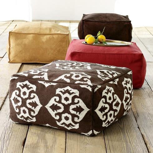 DIY beanbag cube