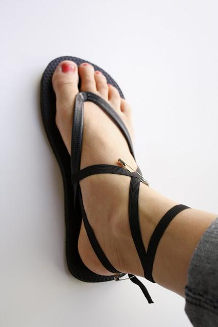 Comfortable Diy Strappy Flip Flops
