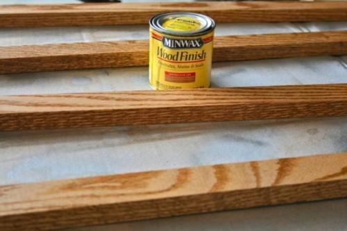 Comfortable Diy Wall Wooden Grid